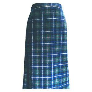 Pendleton pencil wool skirt